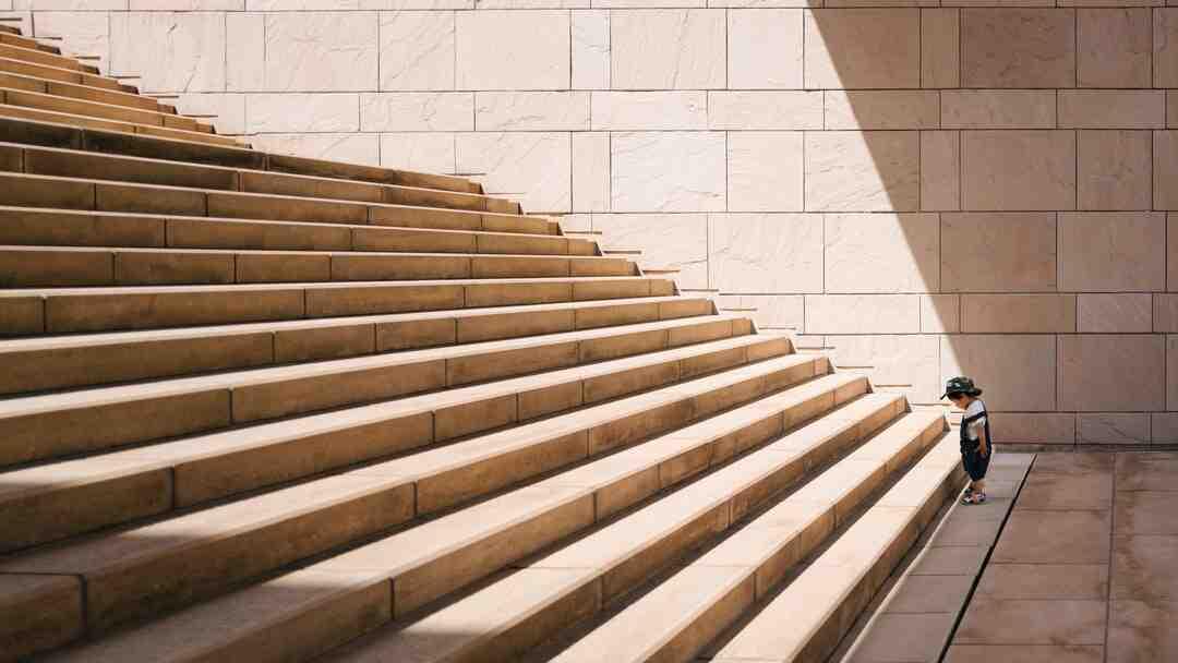 Comment poncer un escalier