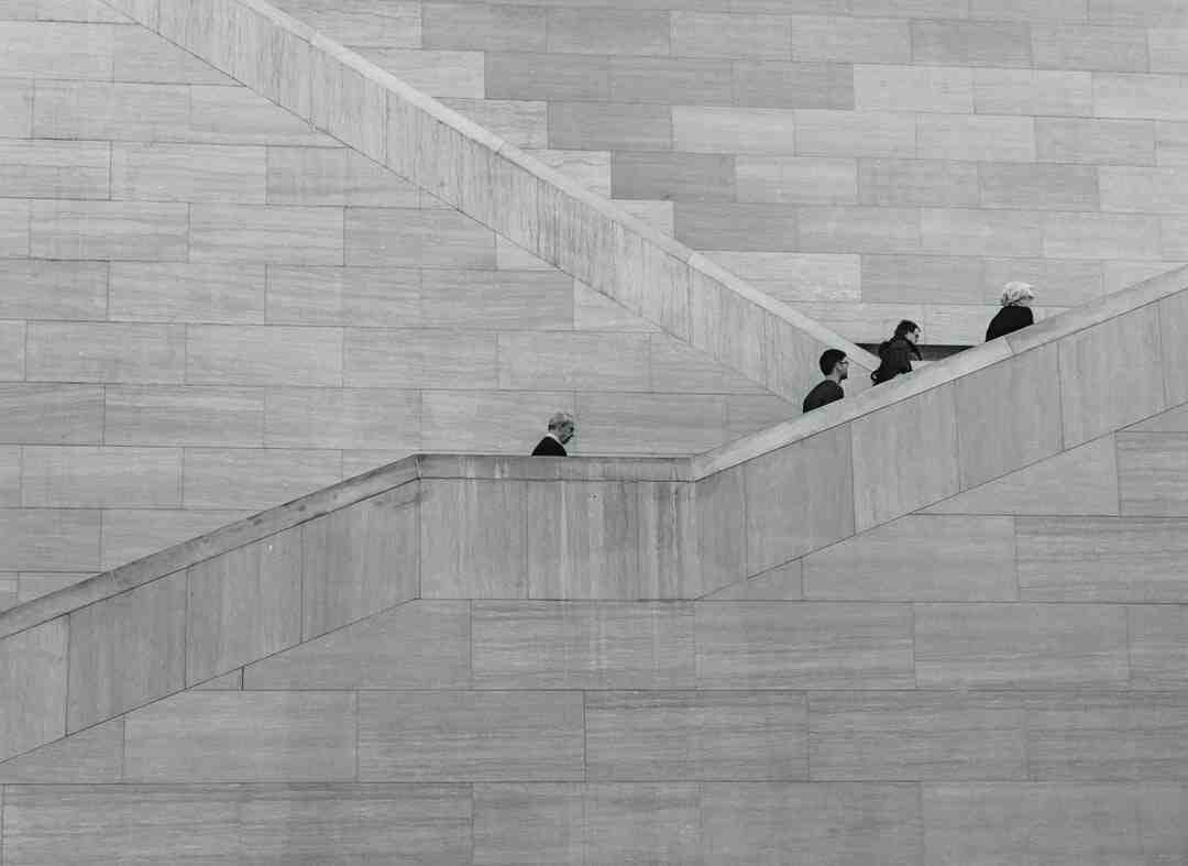 Comment faire un escalier dans un talus
