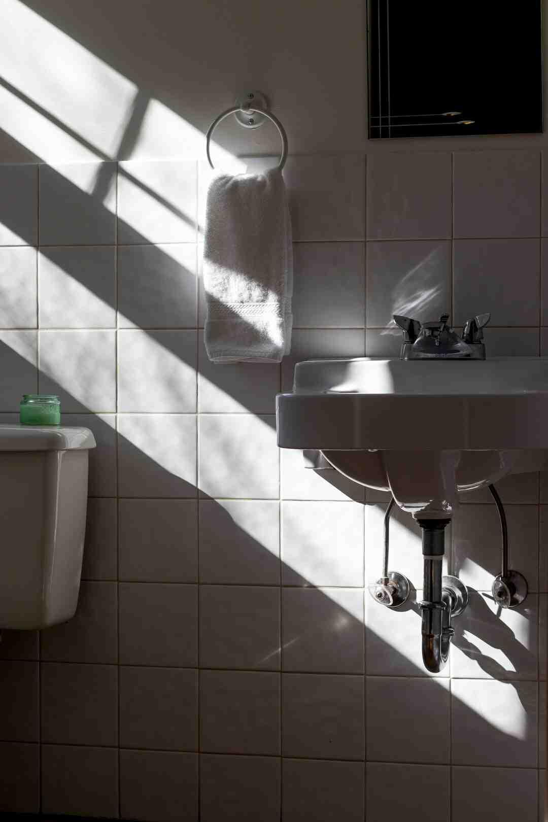 Comment faire la plomberie d'une salle de bain